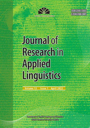 Research in Applied Linguistic Studies